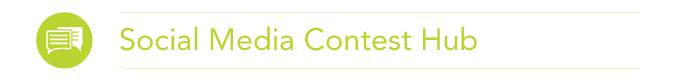 Social Media Contest Hub