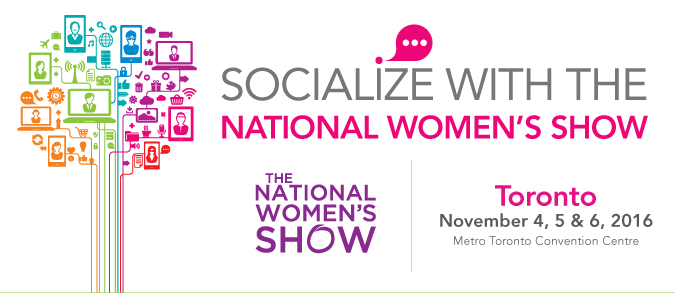 Socialize with the National Women's Show